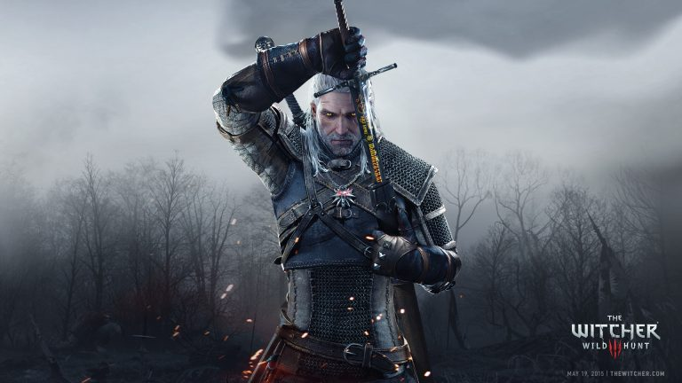 rpg game Witcher 3 cover picture