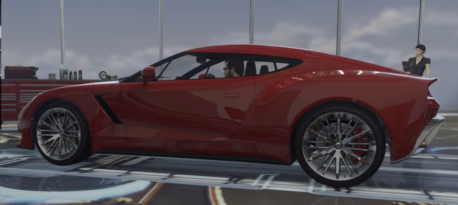 2nd fastest car: Ocelot Pariah
