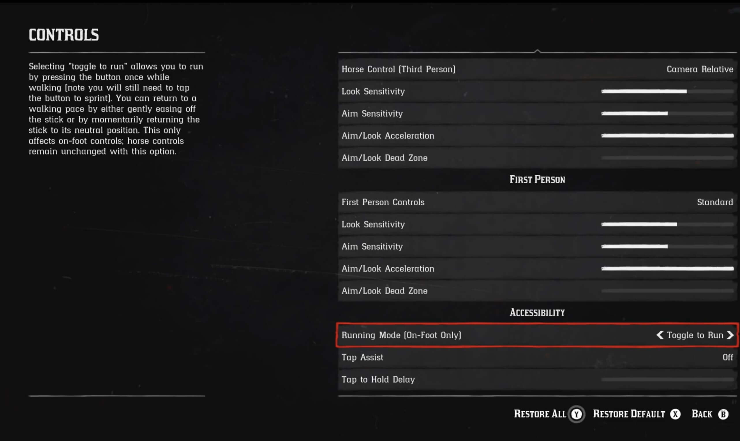 Red Dead Redemption 2 tips - Controls