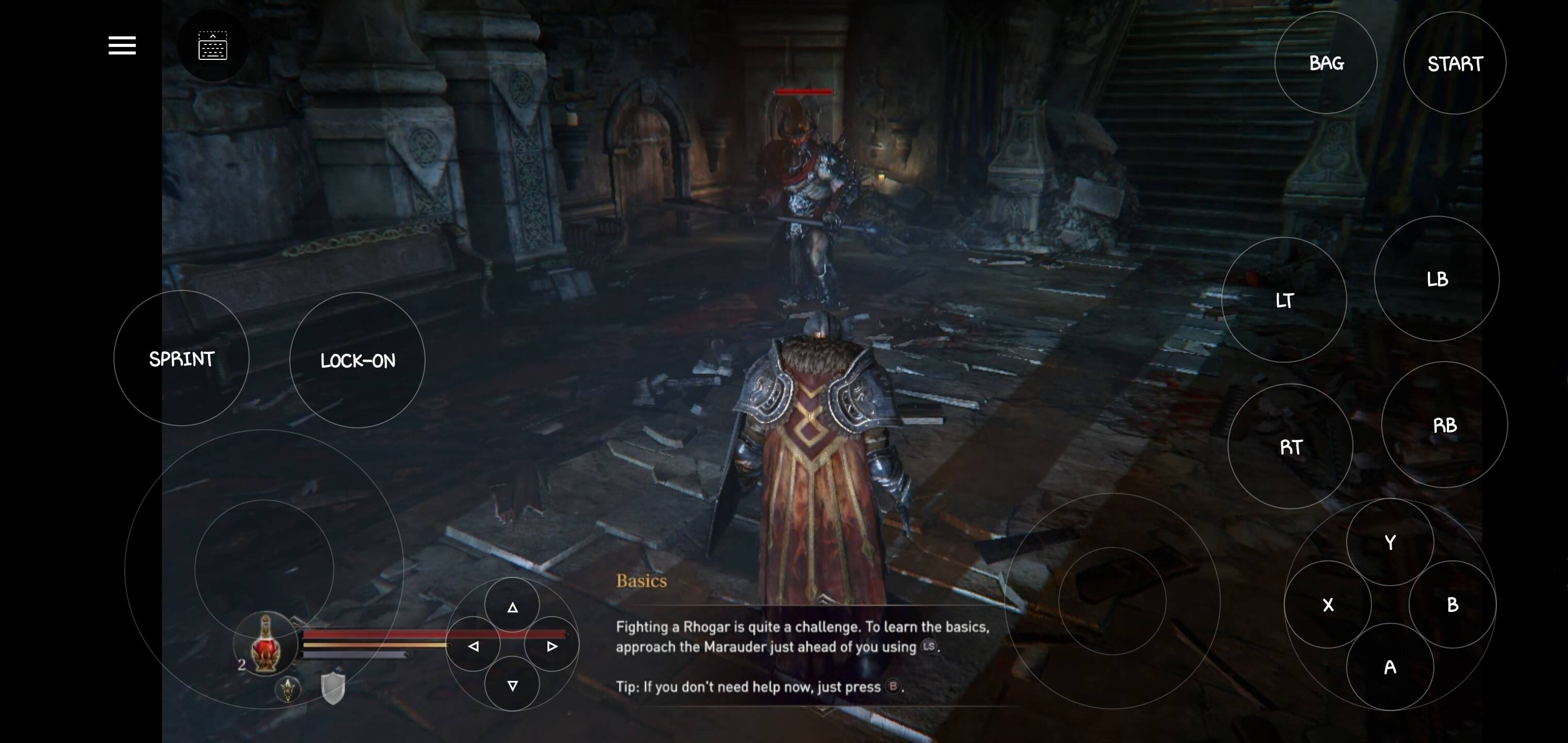 Lords of the Fallen gameplay quality on Vortex